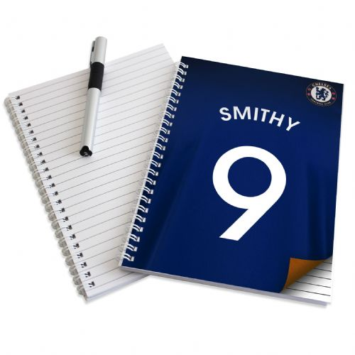Personalised Chelsea A5 Notebook